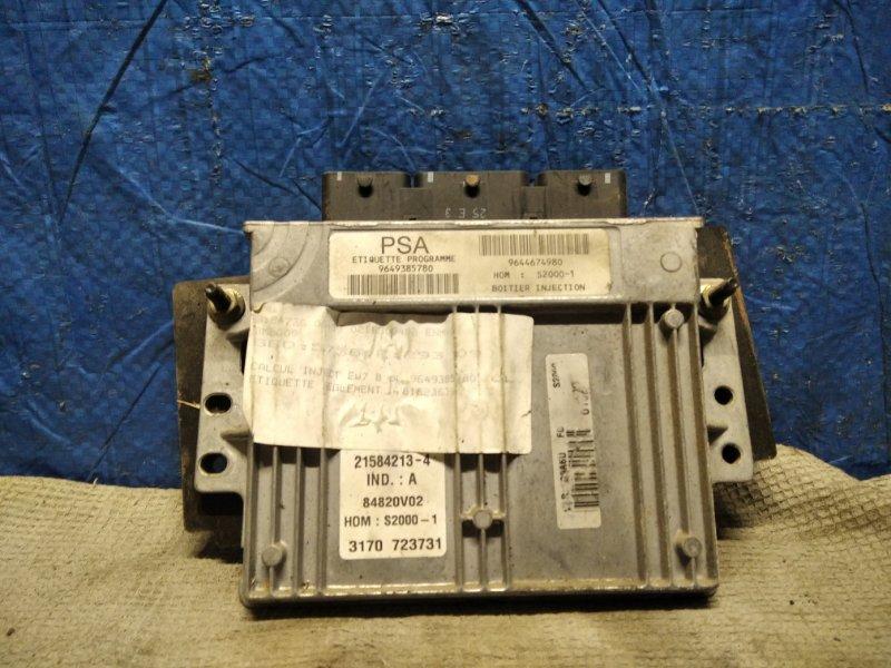 Блок управления двигателем (эбу) Peugeot 406 СЕДАН 1.8 I 16V 117ЛС EW7J4 2003 (б/у)