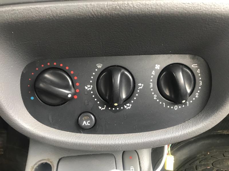 Блок управления отопителем Renault Clio 1 СЕДАН K4J 2001 (б/у)