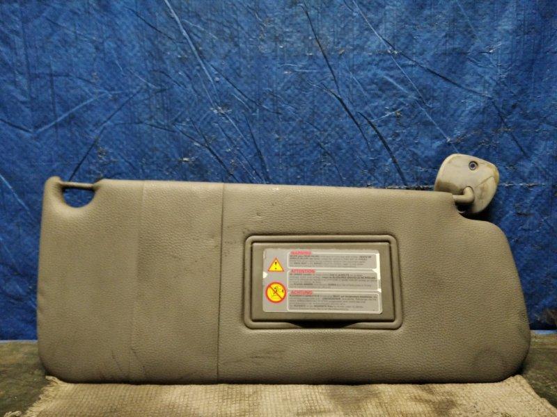 Козырек солнцезащитный Renault Kangoo 1 F8QK630 1.9 Л ДИЗЕЛЬ 2002 передний правый (б/у)