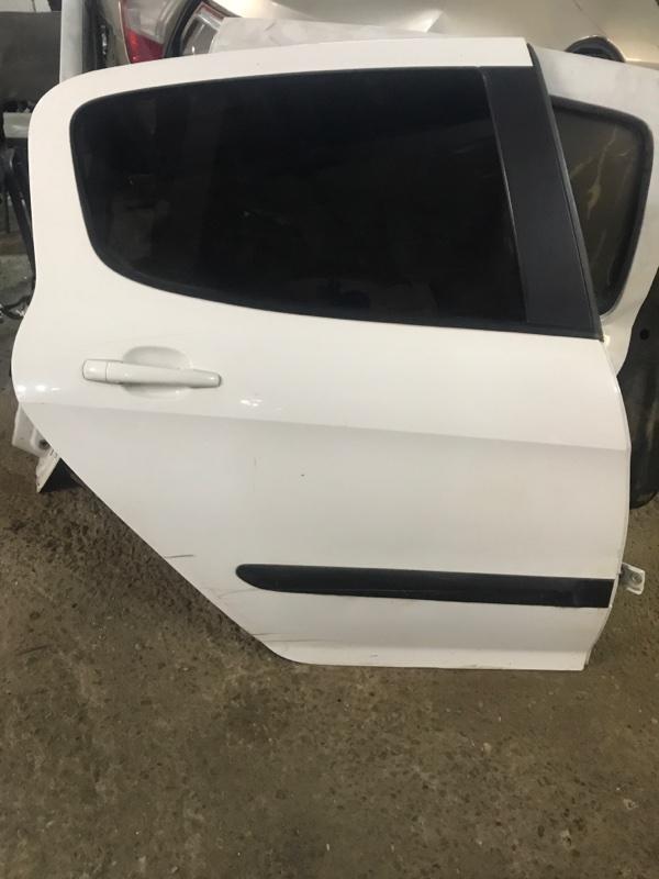 Дверь Peugeot 308 4A/C EP6 2010 задняя правая (б/у)