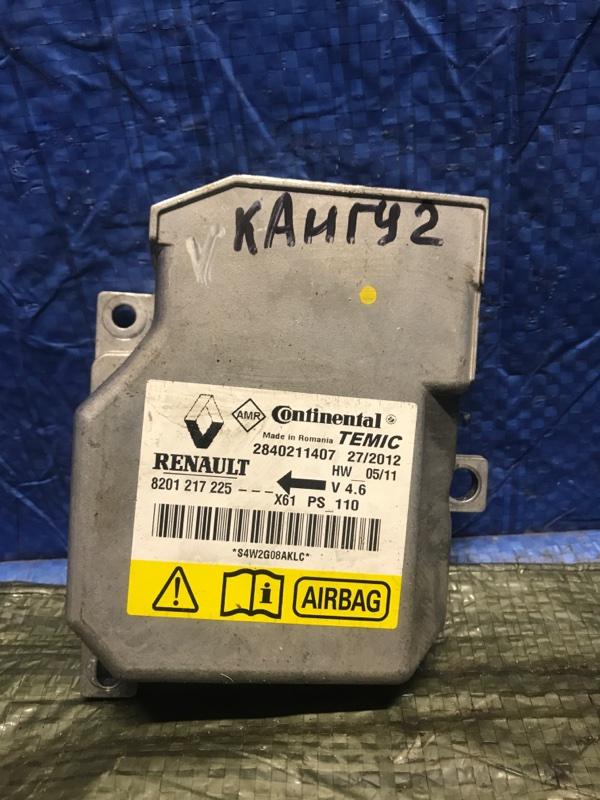 Блок управления srs (безопасности) Renault Kangoo 2 KWOY 2011 (б/у)
