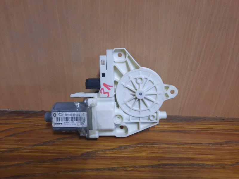 Мотор стеклоподъемника Renault Fluence СЕДАН 1.6 K4M 2010 задний левый (б/у)