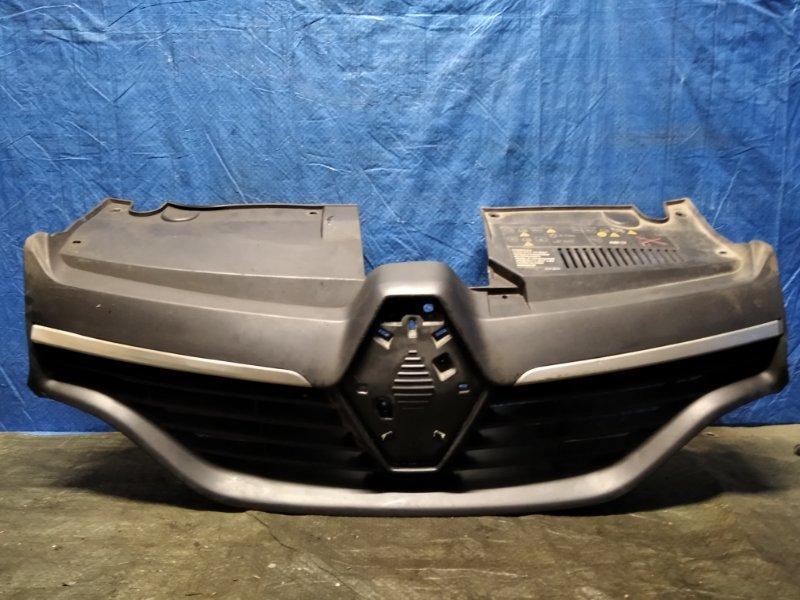 Решетка радиатора Renault Logan 2 L8 K7M 2014 (б/у)