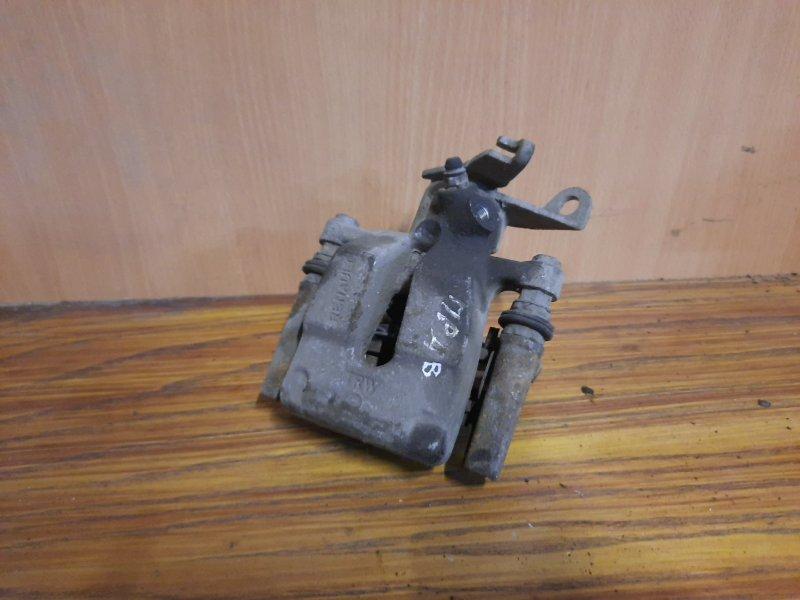 Суппорт тормозной Renault Fluence СЕДАН 1.6 K4M 2010 задний правый (б/у)