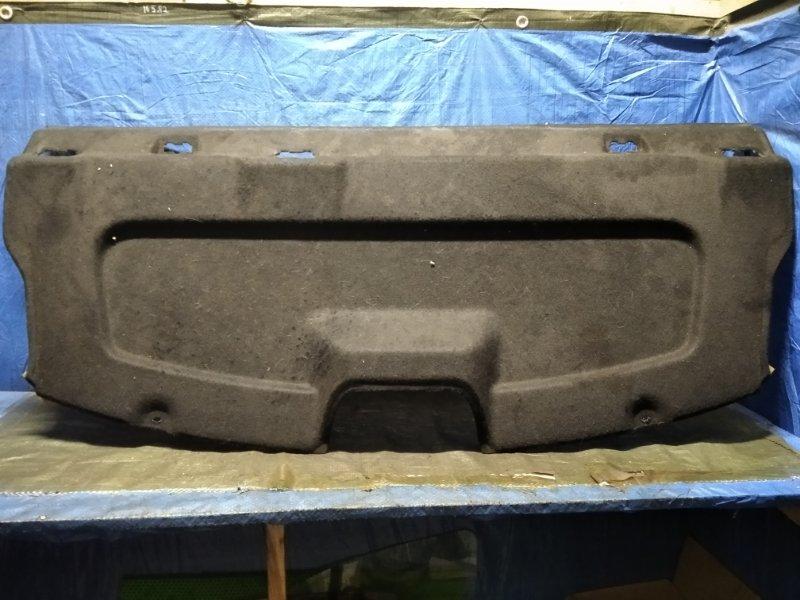 Полка багажника Renault Logan 2 K7M 2014 задняя (б/у)