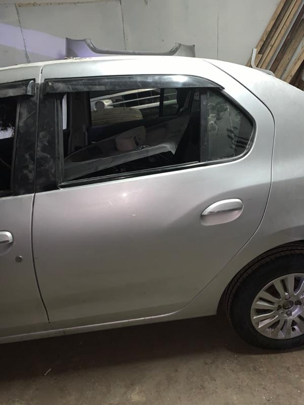 Дверь Renault Logan 2 K4M 2014 задняя левая (б/у)