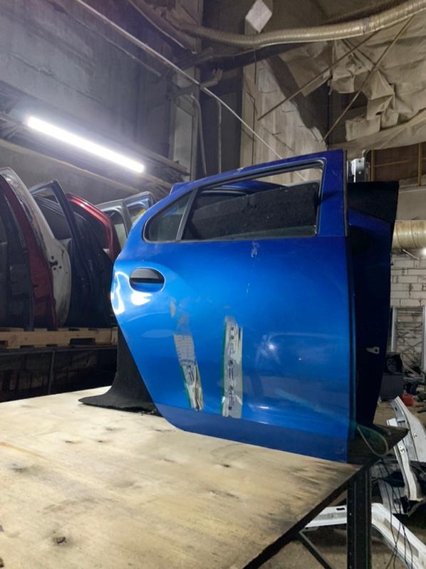 Дверь Renault Logan 2 L8 K7M 2014 задняя правая (б/у)