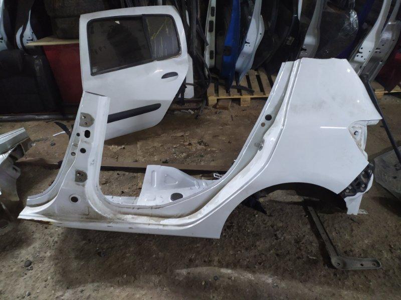 Крыло Renault Sandero  2 2014> заднее правое (б/у)
