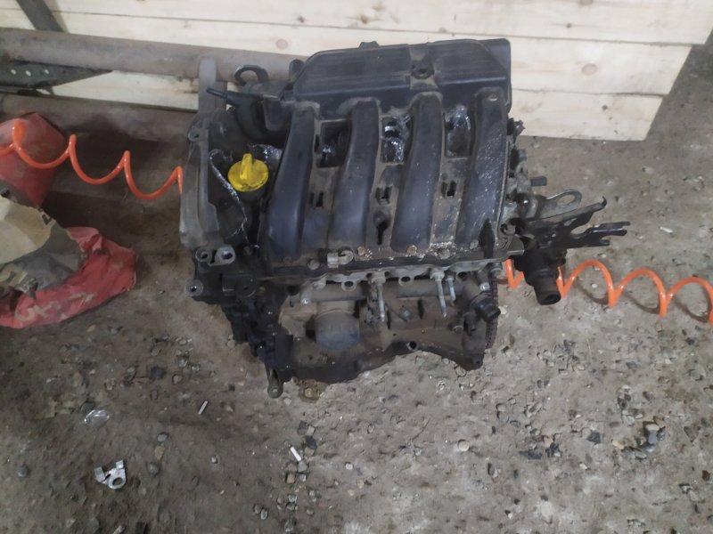 Двигатель Renault Logan 2 2014> (б/у)