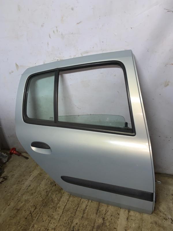 Дверь Renault Symbol 1 СЕДАН K7J 2002 задняя правая (б/у)