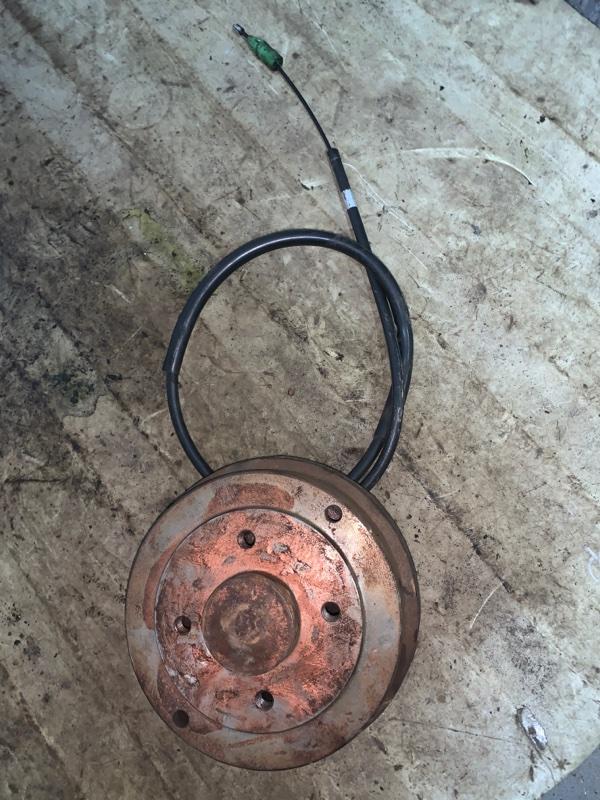 Тормозной барабан Renault Symbol 1 СЕДАН K7J 2002 задний (б/у)
