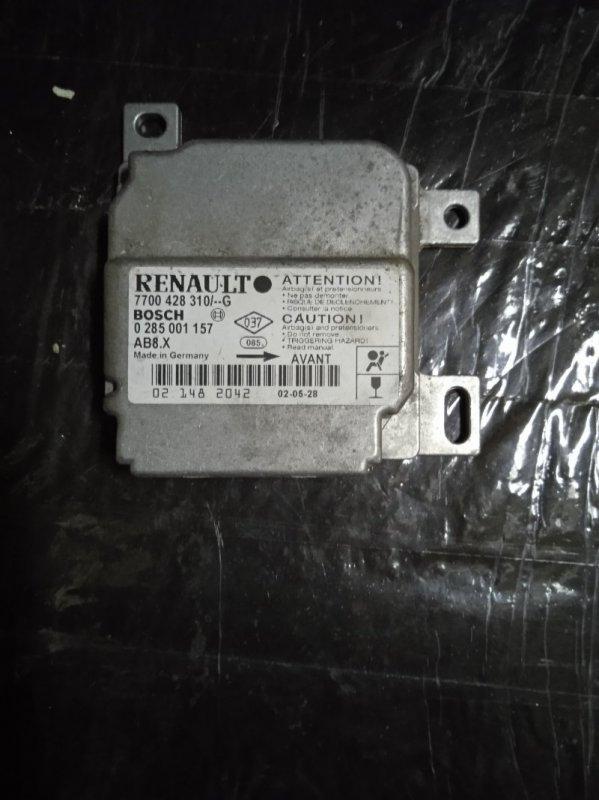Блок управления srs (безопасности) Renault Symbol 1 СЕДАН K7J 2002 (б/у)