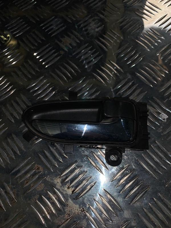 Ручка двери внутренняя Nissan Almera G15 K4M 2016 передняя правая (б/у)