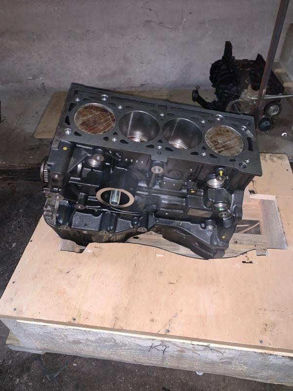 Блок двигателя Renault Kangoo 1 KC K7J 04.2003 (б/у)