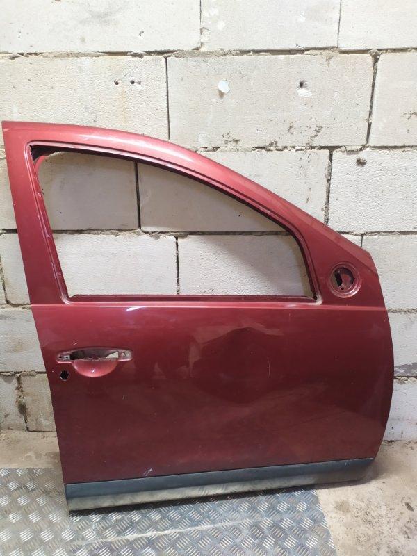 Дверь Renault Sandero 1 K7J A710 2011 передняя правая (б/у)
