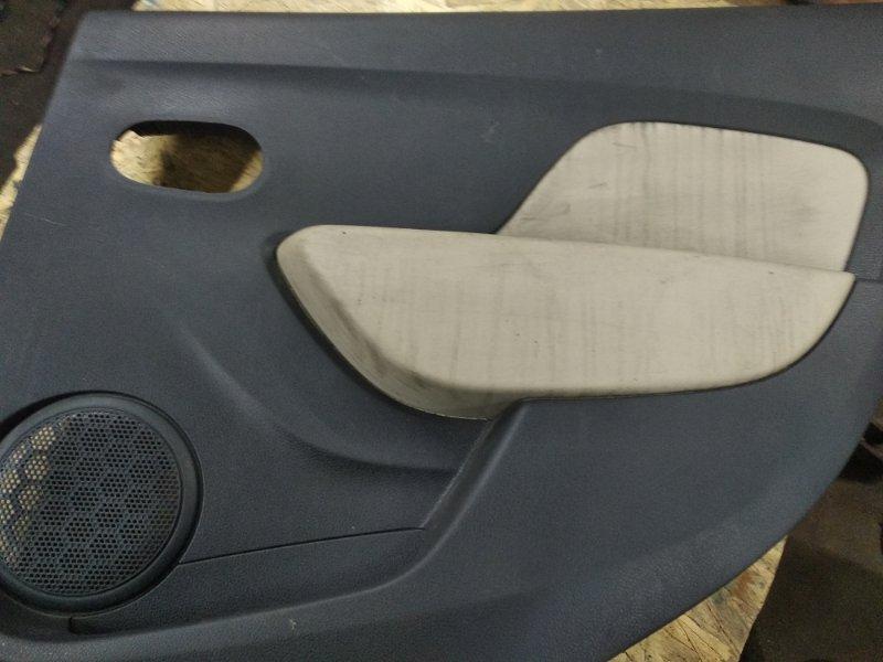 Обшивка двери Renault Logan 2 K4M 2015 задняя правая (б/у)