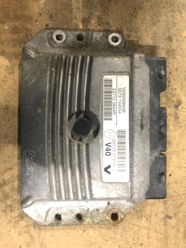 Блок управления двигателем (эбу) Renault Fluence СЕДАН 1.6 K4M 2010 (б/у)