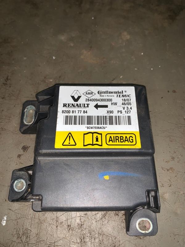 Блок управления srs (безопасности) Renault Logan 1 K7J 2008 (б/у)