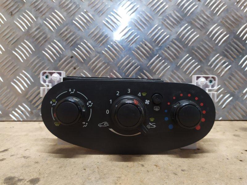 Блок управления отопителем Renault Logan 2 L8 2014 (б/у)