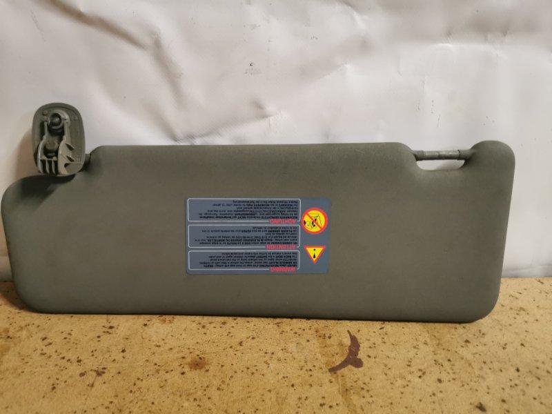 Козырек солнцезащитный Renault Sandero 1 K7J A710 2011 правый (б/у)