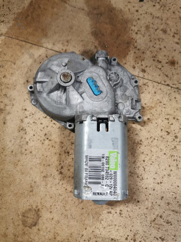Моторчик трапеции дворников Renault Sandero 1 K7J A710 2011 задний (б/у)