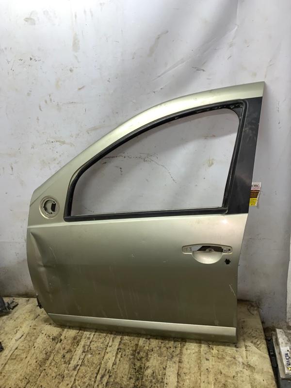 Дверь Renault Sandero 1 K4M 2011 передняя левая (б/у)