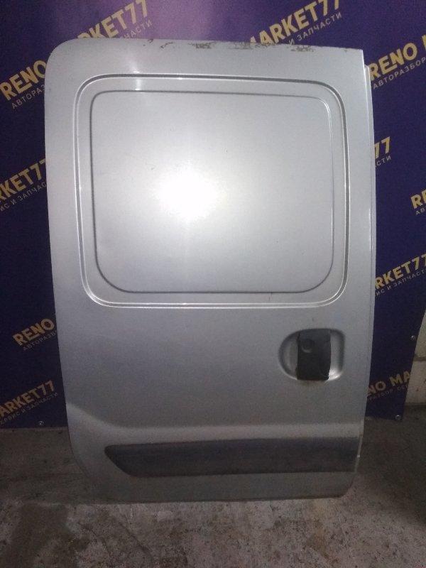 Дверь багажника Renault Kangoo 1 задняя левая (б/у)