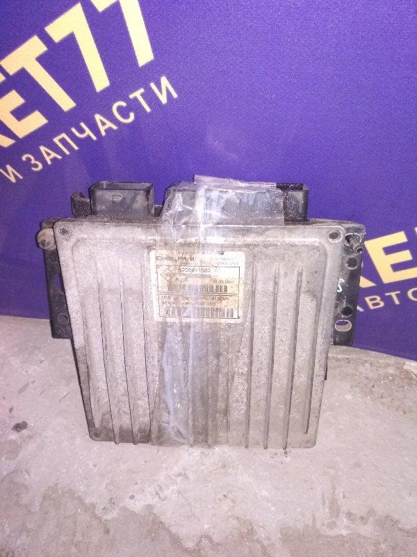 Блок управления двигателем (эбу) Renault Kangoo 1 (б/у)