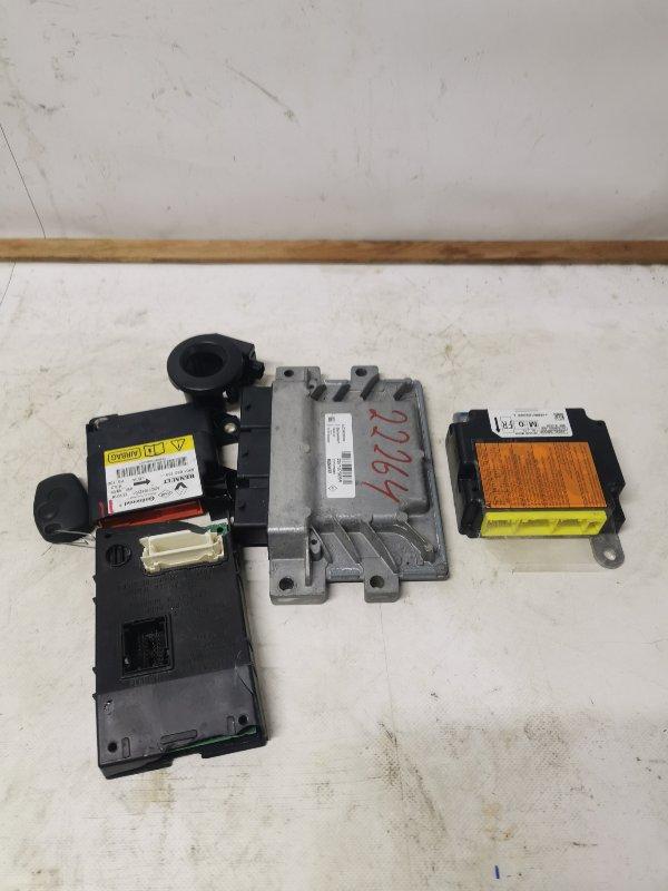 Блок управления двигателем (эбу) Nissan Almera G15 2018 (б/у)