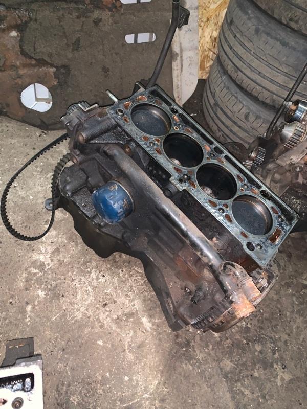 Блок двигателя Renault Logan 1 LS K7J 2005 (б/у)