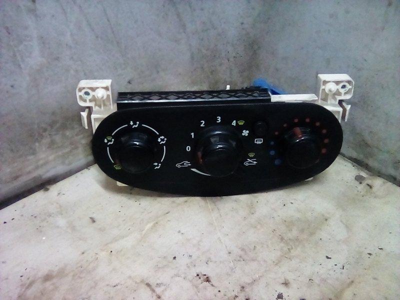 Блок управления отопителем Renault Logan 2 K7M (б/у)