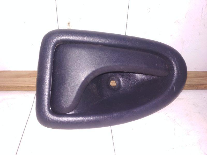 Ручка двери внутренняя Renault Symbol 1 K7J 2005 задняя правая (б/у)