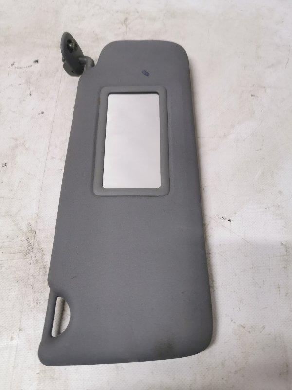 Козырек солнцезащитный Renault Symbol 1 K7J 2005 передний правый (б/у)