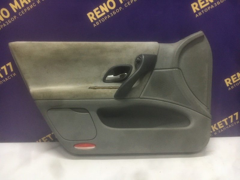 Обшивка двери Renault Laguna 2 K4M передняя левая (б/у)