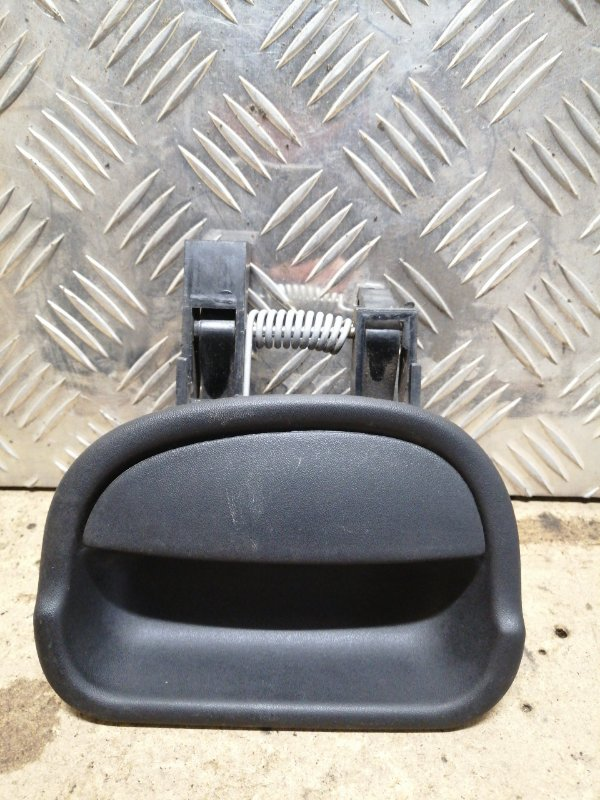 Ручка двери внутренняя Renault Kangoo 1 1 2008 правая (б/у)