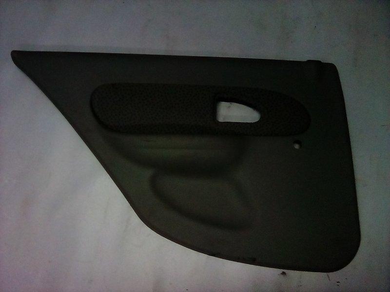 Обшивка двери Renault Symbol 1998 задняя левая (б/у)