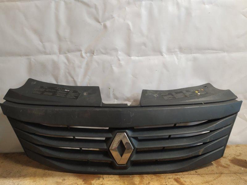 Решетка радиатора Renault Logan 1 2009 (б/у)