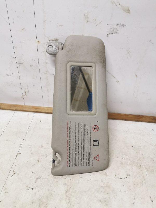 Козырек солнцезащитный Renault Symbol 2 СЕДАН 1.6 K4M 2011 передний правый (б/у)