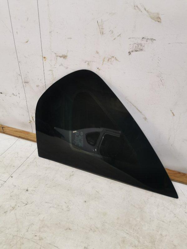 Стекло кузова глухое Renault Symbol 2 СЕДАН 2011 заднее правое (б/у)