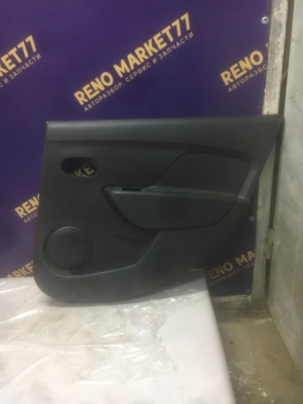 Обшивка двери Renault Logan 1 2005 задняя правая (б/у)