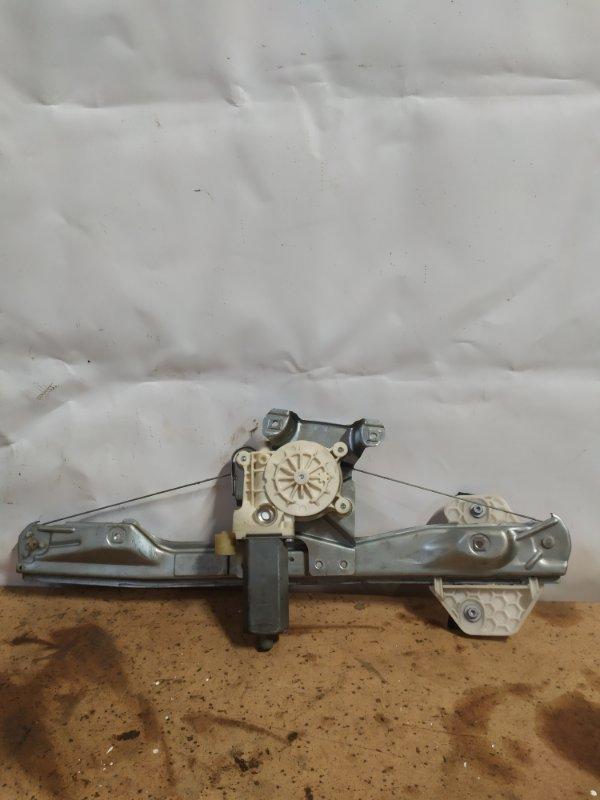 Электростеклоподъемник Renault Symbol 2 СЕДАН 1.6 K4M 2011 задний правый (б/у)