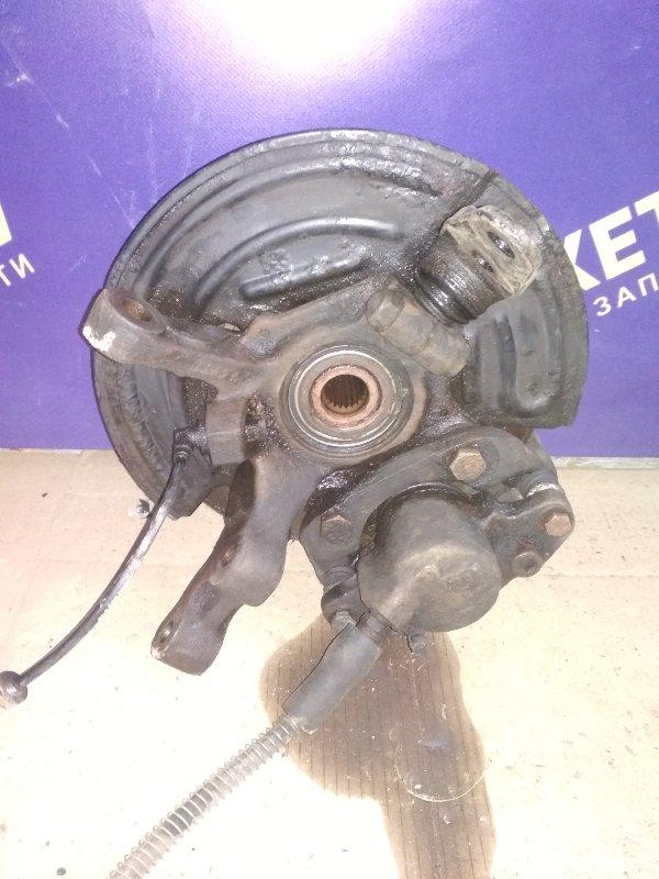 Кулак поворотный Renault Symbol 2 СЕДАН 1.6 K4M 2011 передний правый (б/у)