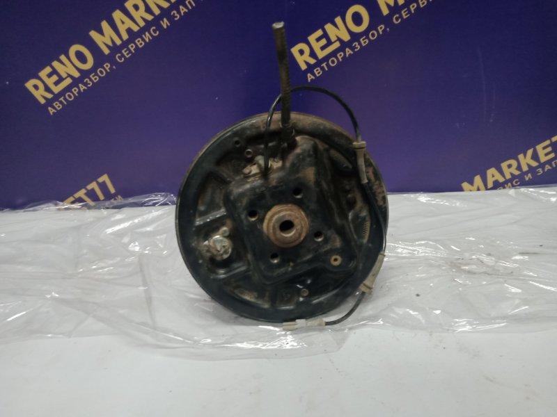 Тормозной барабан Renault Kangoo 2 KWO K9K 2011 задний левый (б/у)