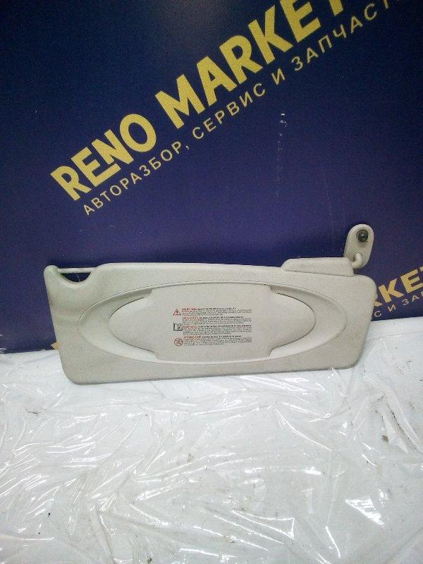 Козырек солнцезащитный Renault Kangoo 2 KWO K9K 2011 левый (б/у)
