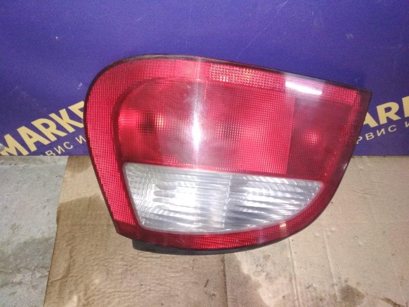 Фонарь Renault Megane 1 ХЭТЧБЭК K7J 2000 задний правый (б/у)
