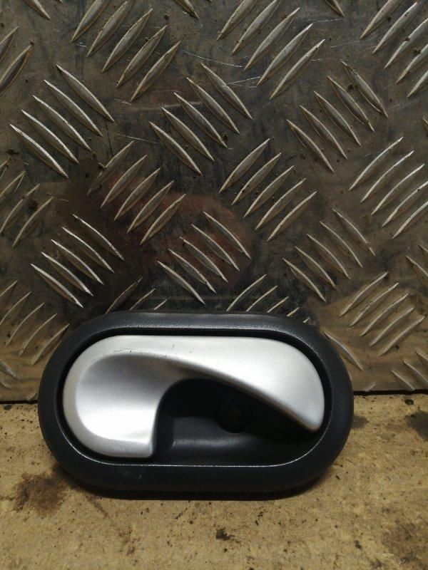 Ручка двери внутренняя Renault Sandero 1 K4M 2011 передняя правая (б/у)