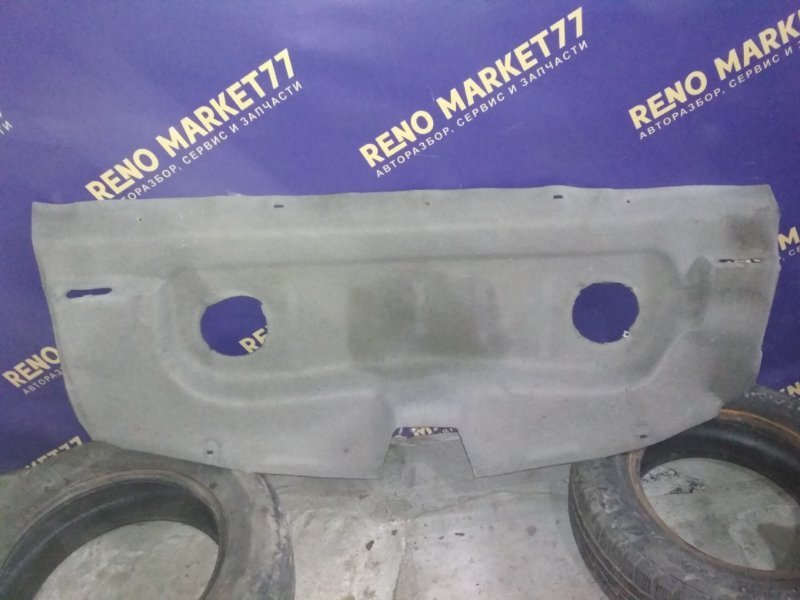 Полка багажника Renault Logan 1 K7J 2004 задняя (б/у)