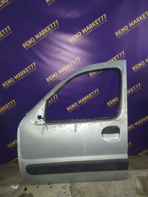 Дверь Renault Kangoo 1 1 2008 передняя левая (б/у)