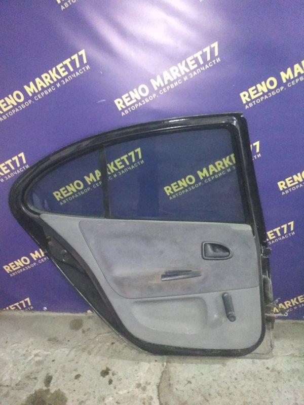 Дверь Renault Megane 1 ХЭТЧБЭК K7J 2000 задняя левая (б/у)