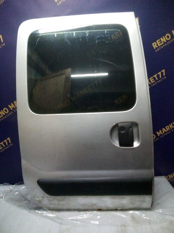 Дверь сдвижная Renault Kangoo 1 KC K9K 2006 правая (б/у)